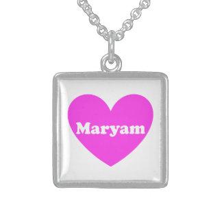 Maryam Square Pendant Necklace