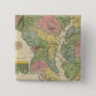 Maryland 15 Cm Square Badge