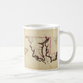 Maryland 3 coffee mug