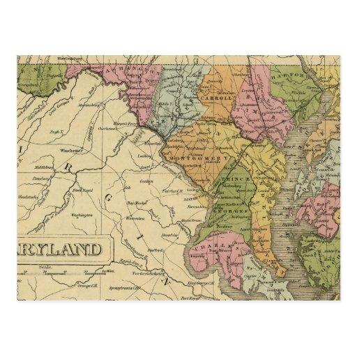 Maryland 3 postcard