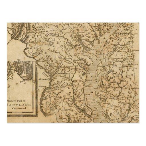 Maryland 3 post card