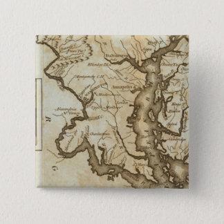 Maryland 4 15 cm square badge