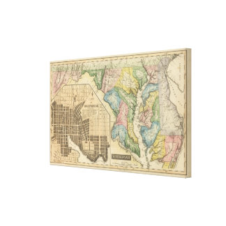 Maryland 4 canvas print