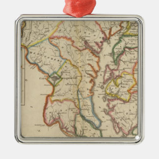 Maryland 4 christmas ornament