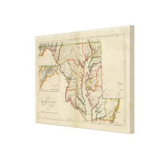 Maryland 5 canvas print