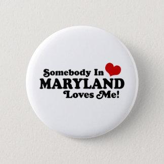 Maryland 6 Cm Round Badge