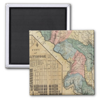 Maryland 8 square magnet