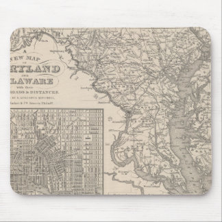 Maryland and Delaware Mouse Mat