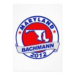 Maryland Bachmann Personalized Announcement