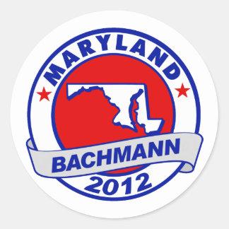 Maryland Bachmann Sticker