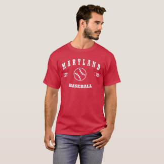 Maryland Baseball Retro Logo T-Shirt
