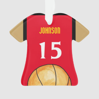 Maryland Basketball Jersey Ornament