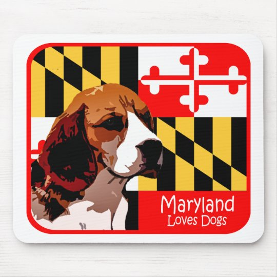 Maryland Beagle Mouse Pad