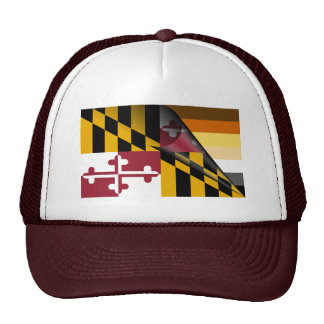 Maryland Bear Pride Flag Trucker Hat