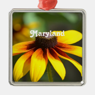 Maryland Black Eyed Susan Christmas Ornament