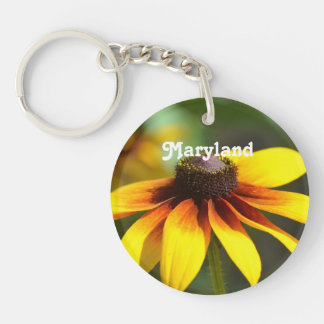 Maryland Black Eyed Susan Keychain