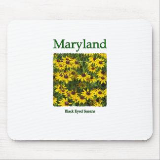 Maryland Black Eyed Susans Logo Mouse Pad