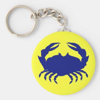Maryland Blue Crab Key Ring