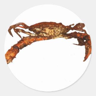 Maryland Blue Crab Round Sticker