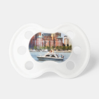 Maryland - Cabin Cruiser by Baltimore Skyline Pacifier