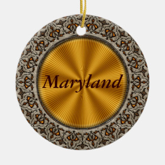 Maryland Christmas Ornament