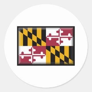 Maryland Classic Round Sticker