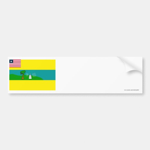 Maryland County Flag Bumper Sticker