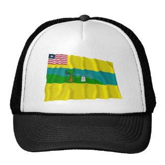 Maryland County Waving Flag Mesh Hat
