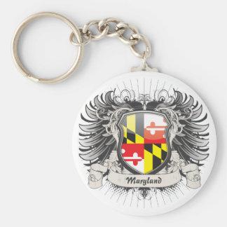 Maryland Crest Key Ring