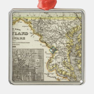 Maryland, Delaware Christmas Ornament