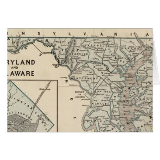 Maryland, Delaware, DC Card