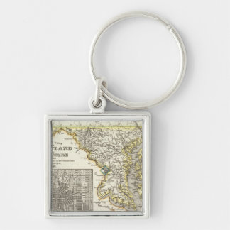 Maryland, Delaware Key Ring