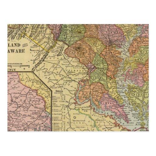 Maryland, Delaware Postcards