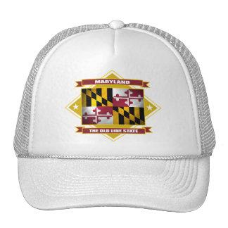 Maryland Diamond Mesh Hat