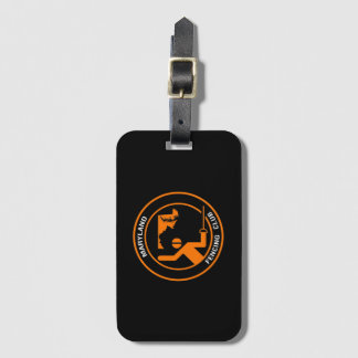 Maryland Fencing Club Bag Tag