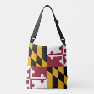 Maryland flag, American state flag Crossbody Bag