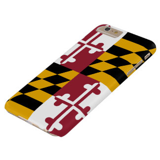 Maryland Flag Barely There iPhone 6 Plus Case