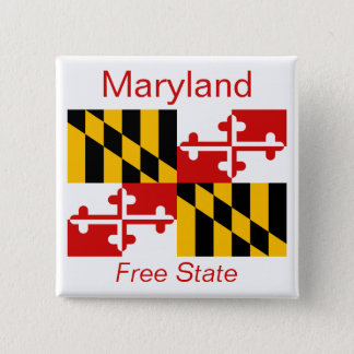 Maryland Flag Button