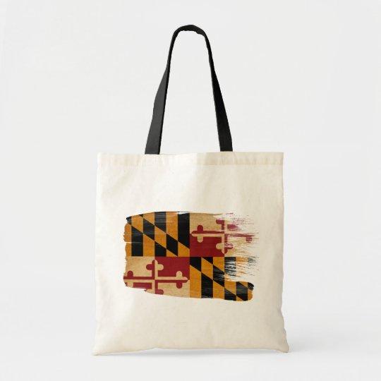 Maryland Flag Canvas Bags