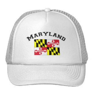 Maryland Flag Trucker Hats