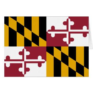 Maryland Flag Card