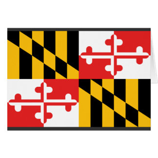 Maryland Flag Card