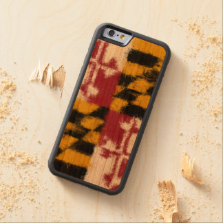 Maryland Flag Carved Cherry iPhone 6 Bumper Case