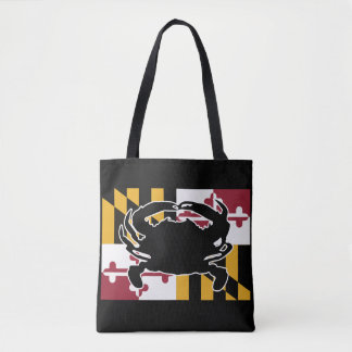 Maryland Flag/Crab bag