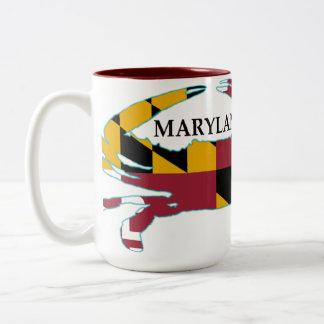 Maryland Flag Crab Mug