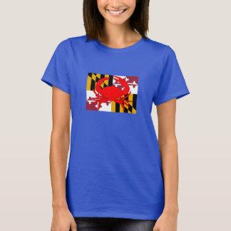 Maryland Flag crab Shirt