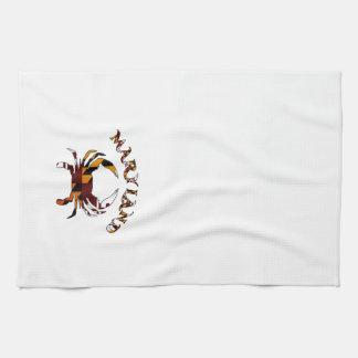 Maryland Flag Crab Tea Towel