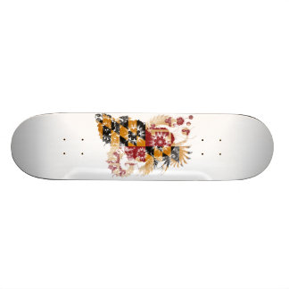 Maryland Flag Custom Skate Board