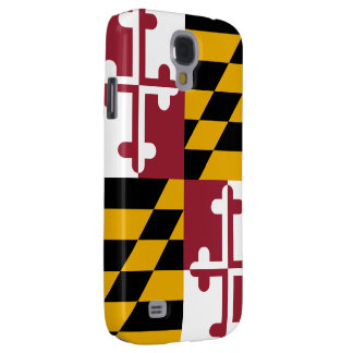 Maryland Flag Galaxy S4 Case