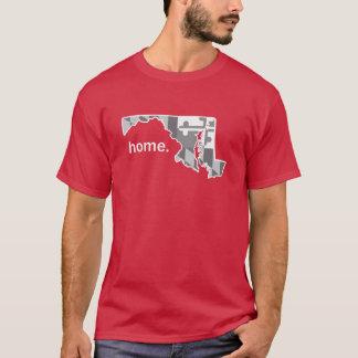 Maryland Flag greyscale home shirt